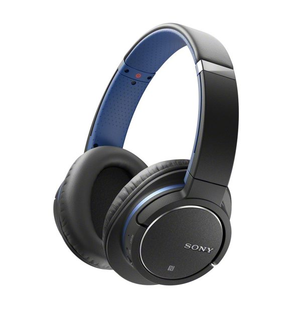 Sony MDR-ZX770BNB noise-cancelling headphones with Bluetooth wireless connection