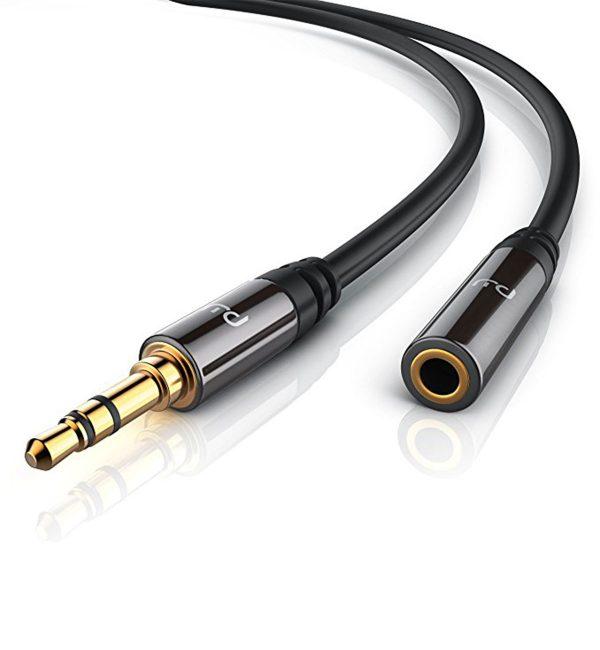 Primewire 2m 3.5mm audio extension cable