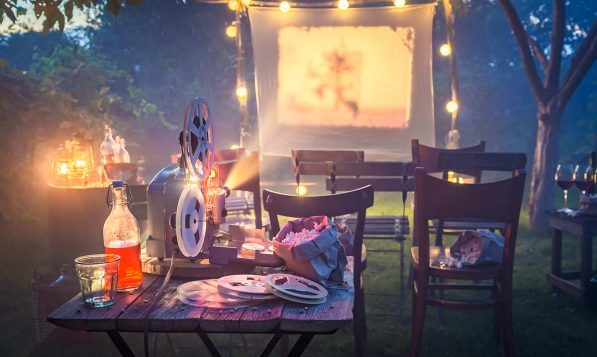 Outdoor cinemas are can be held at large venues and even at home in your garden (weather permitting!).